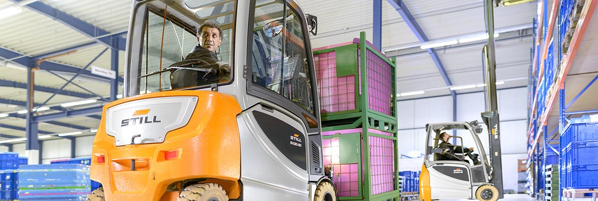 Used forklifts | Chemical industry